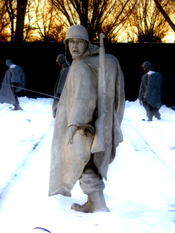 Korean War Memorial DC