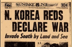 Korean War Newspaper